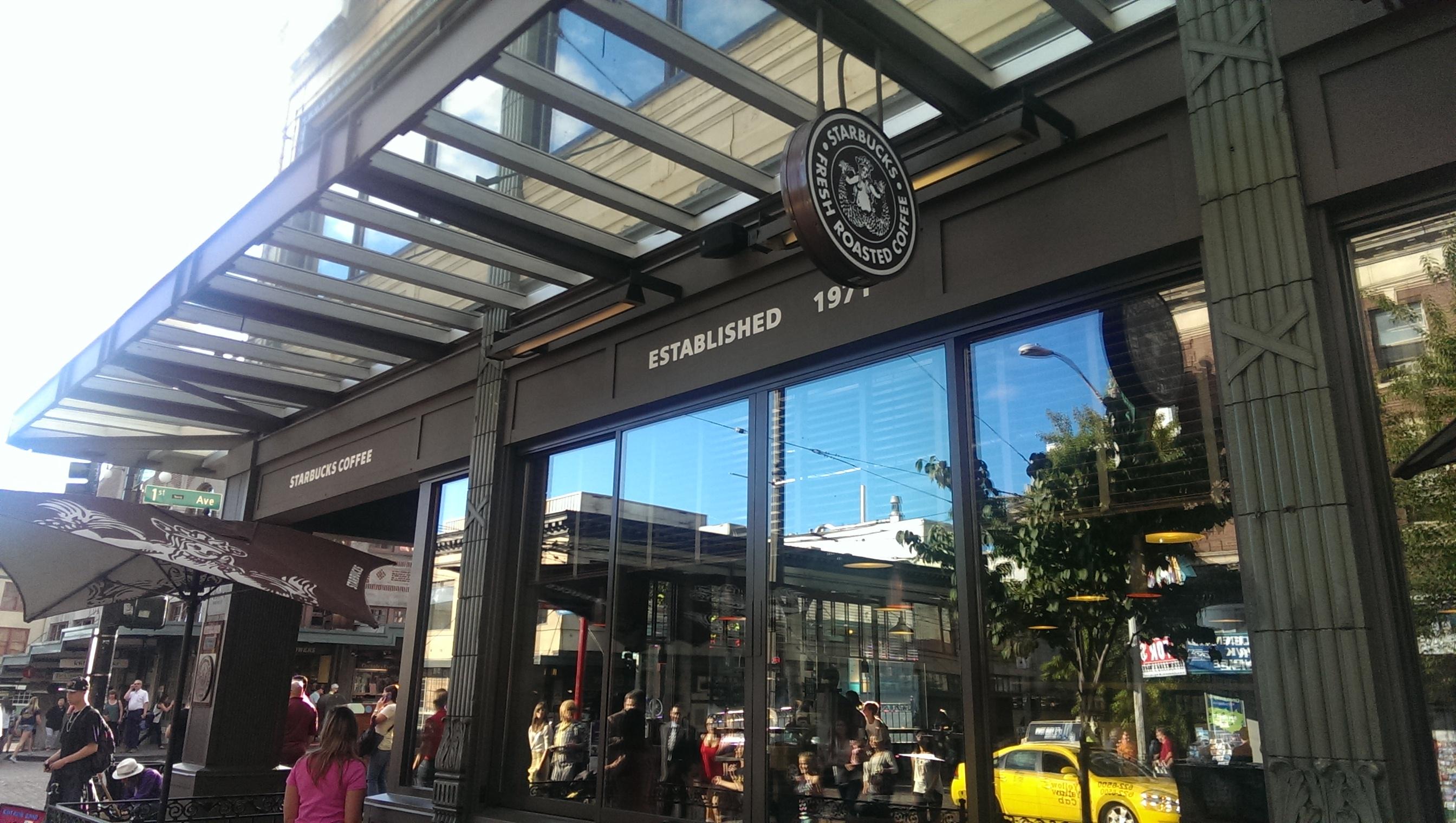 TGG's coffee run at Starbucks Capital