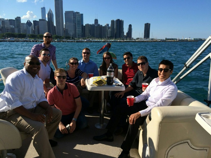 TGG and HUB International take to Lake Michigan